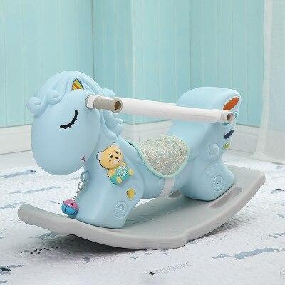 Multifonctionnel chaise à bascule pour enfants un an bébé jouet 0-1 anniversaire cadeau d'anniversaire maison jouet d'intérieur