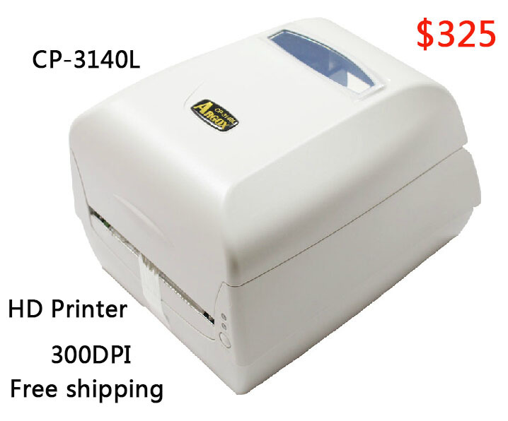 Argox thermal label printer CP-3140L 300dpi Barcode sticker printer working for Jewelry label clothing tag PET/PVC label machine 58mm label barcode printer with direct thermal label and adhesive sticker pritner usb gp2120t for coffee store