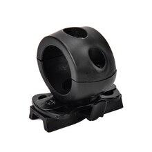 Быстросъемный фонарик с зажимом для быстрого шлема Универсальный(Fast, MICH, IBH и т. Д. С рельсовым шлемом) 2,5 см