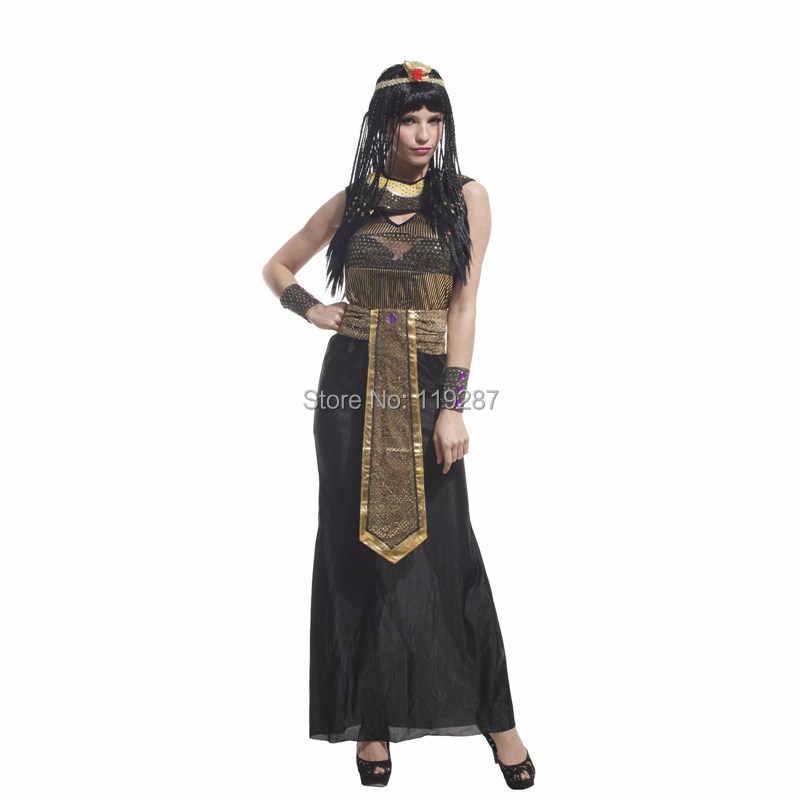 上海ストーリーハロウィン女性コスチュームセクシーなエジプト皇太子クレオパトラコスプレ 155 〜 175 センチメートルの女王ナイル衣装