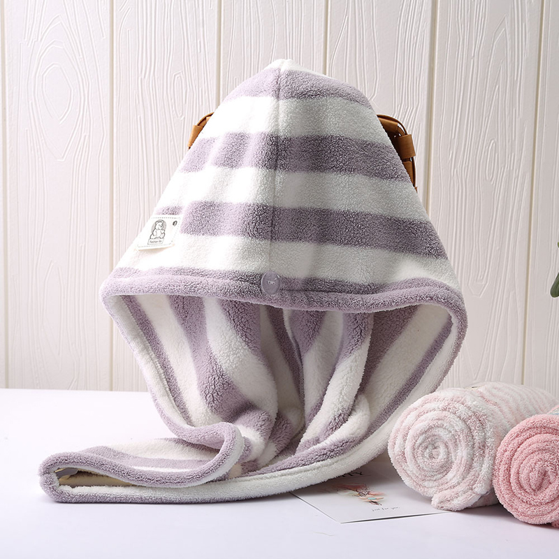 25*65cm Women Towels Bathroom Microfiber Towel Solid Dry Hair Towels For Adults Super Absorbent Quick-drying