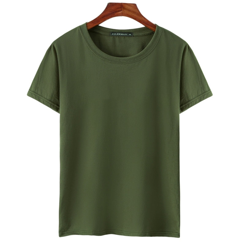 6pcs Lot T Shirts Men Women Cotton Summer Short Sleeve Solid Male Female Fitted Tshirts Top Tees O-Neck Plus Size Tee shirt MuLS 08