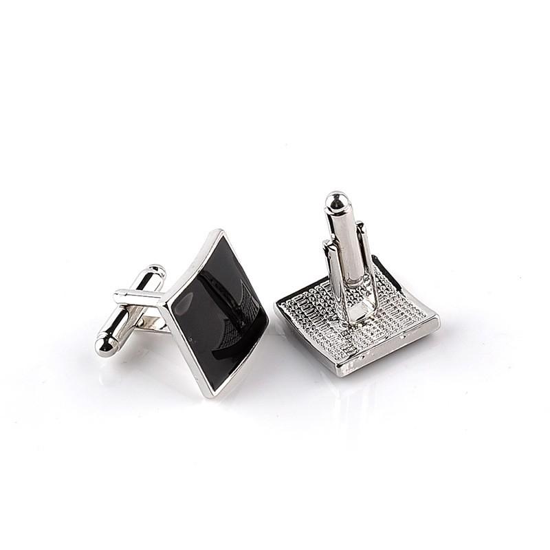 HTB1d.AtMVXXXXXqaXXXq6xXFXXXc - Classic Black Square Quality Cufflinks