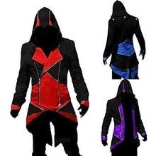Videojáték Assassinator Hoodie Cosplay Costume