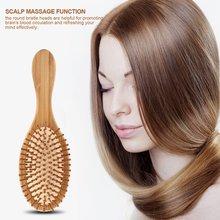 Wooden Hair Brush Massage Comb Scalp Massage Brush Air Cushion Combs Anti-static Brush Comb 2018 все цены