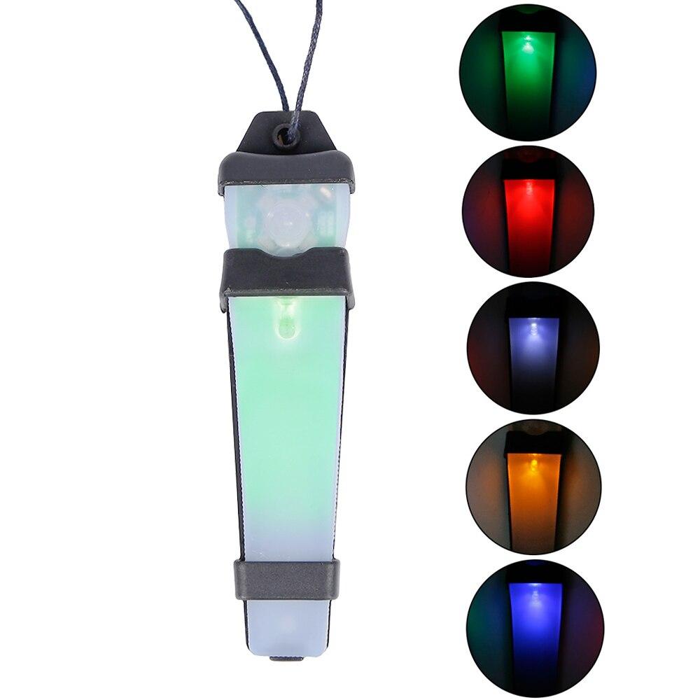 Тактический шлем, защитный свет, лампа для выживания, 5 видов цветов, водонепроницаемая, с волшебной лентой, для охоты, страйкбола, Молл, стро...