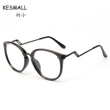 0b1f9b908a988b KESMALL Fashion Retro Glasses Frame Men Women Myopia Big Spectacle Frames  Clear Lens Eyewear Lunette Ronde