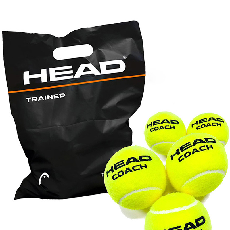 65 MM Tennis Balls Head 12 PCS High Quality Elastic Beach Tennis Ball Training Accessories Practice Trainer Padel Racket Sports