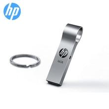 Оригинальный флешка флеш-диск hp 16 ГБ 32 ГБ 64 ГБ флеш-накопитель металлический USB флеш-накопитель V285W диск на брелок DIY логотип подарок карта памяти Бесплатная доставка флэшка