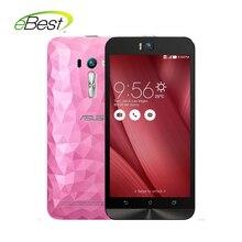 "Original asus zenfone selfie 5.5 ""ZD551KL 4G lte teléfono celular de Doble cámara de 13.0 MP smartphone Snapdragon 615 octa core 3 GB de RAM"