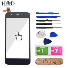 Touch Screen For Fly IQ4411 IQ4413 IQ4414 IQ4415 Touch Screen Digitizer Panel Front Glass Sensor TouchScreen Tools Adhesive