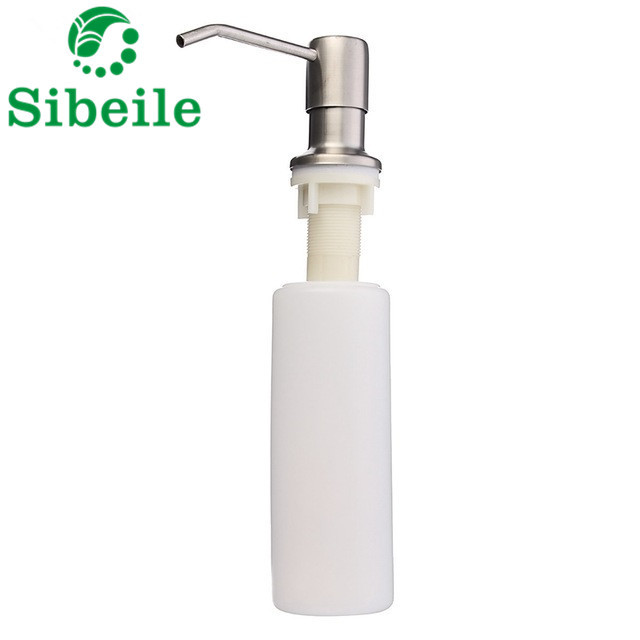 kitchen sink soap dispenser bottle portable sble high quality deck mounted liquid dishwashing pool replace