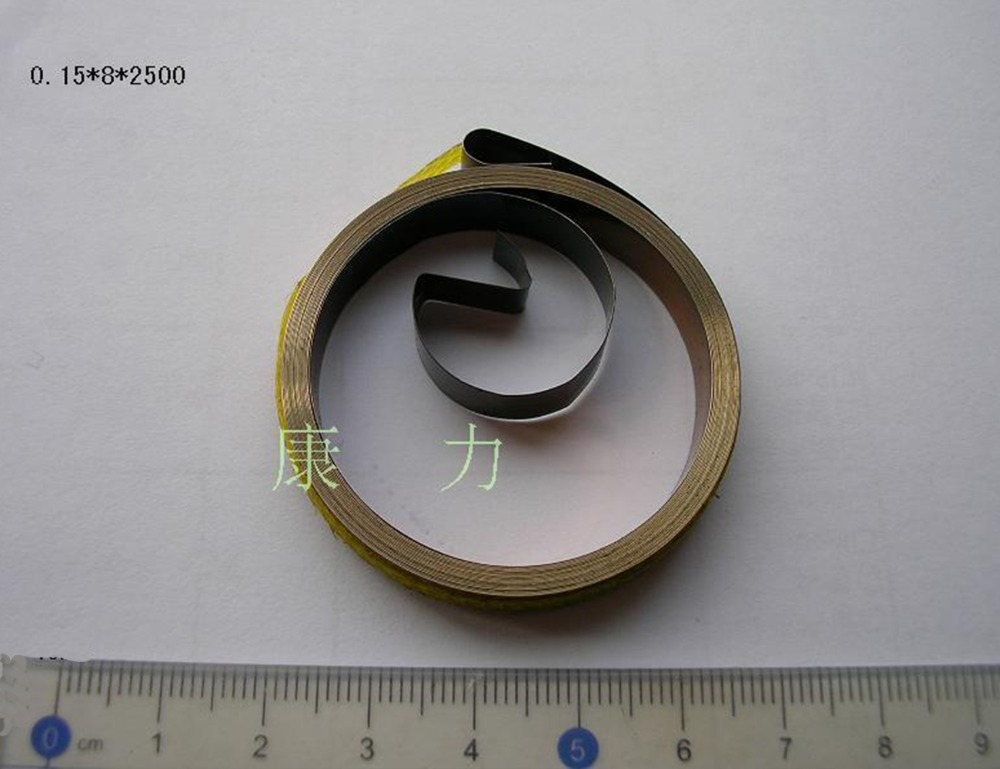 Custom stainless steel flat contact spiral torsion springs sprial coil muelle espiral schuller потолочный светильник espiral