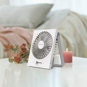 """Image 4 - Складной USB вентилятор Youpin Smartfrog с зарядкой, 4 """"портативный мини вентилятор, бесшумный сильный ветер для летнего тепла, для домашнего офиса"""