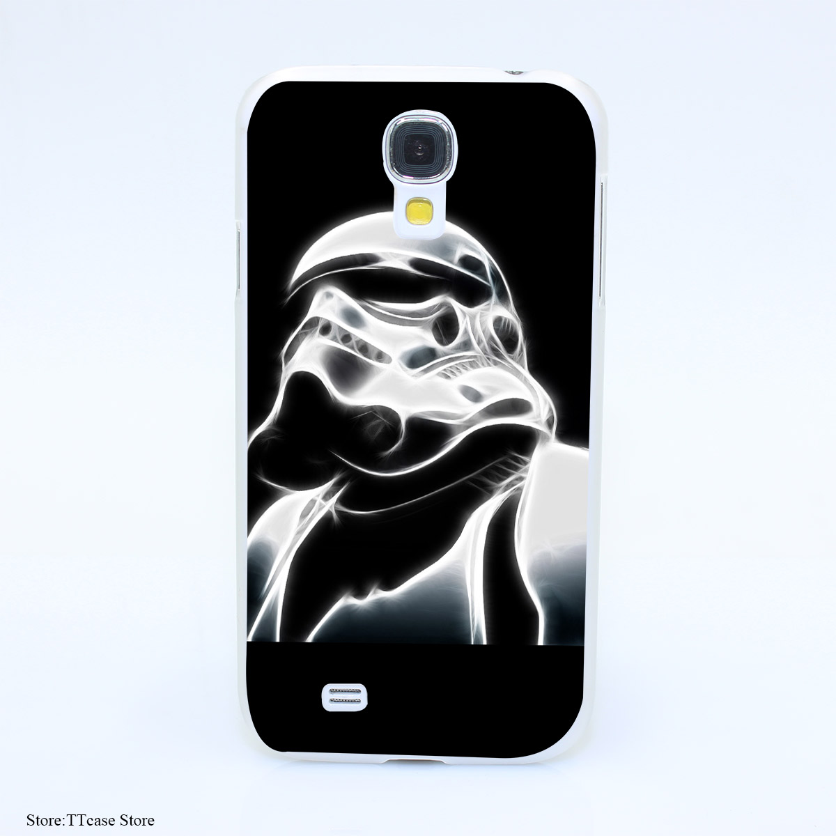 3954CA Vintage Stormtrooper Star Wars Hard Transparent Case Cover for Galaxy S2 S3 S4 S5 & Mini S6 S7 & edge Plus