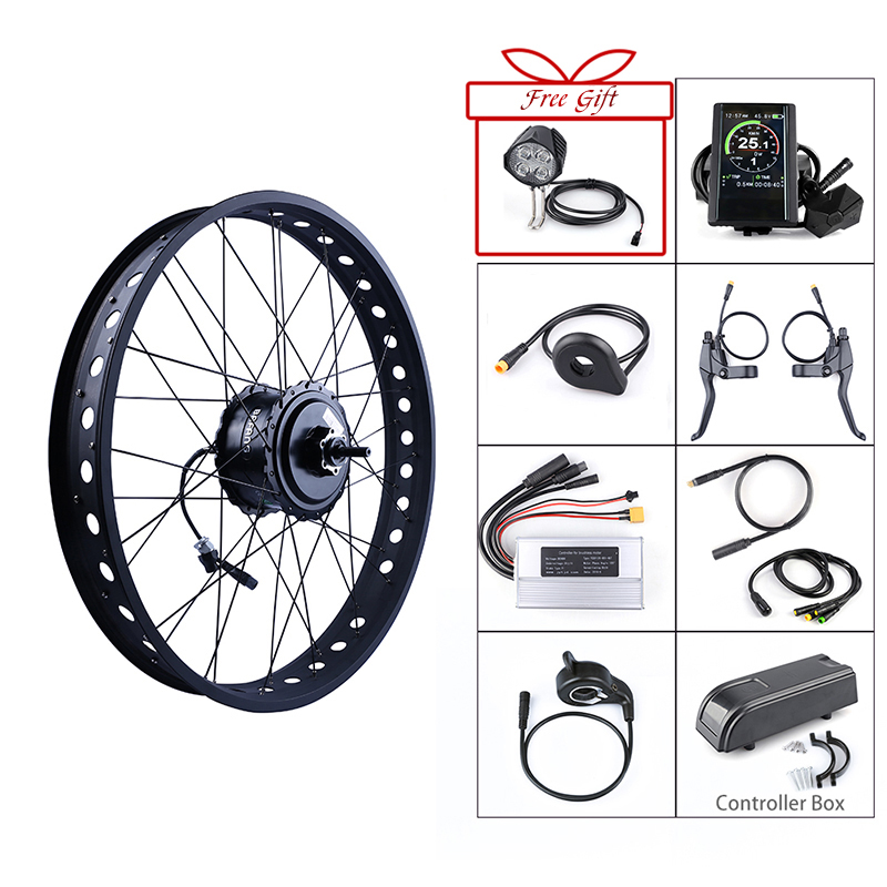 Bafang 48V 750W Rear Hub Motor Brushless Wheel Drive Electric Bicycle Conversion Kits for 20 26