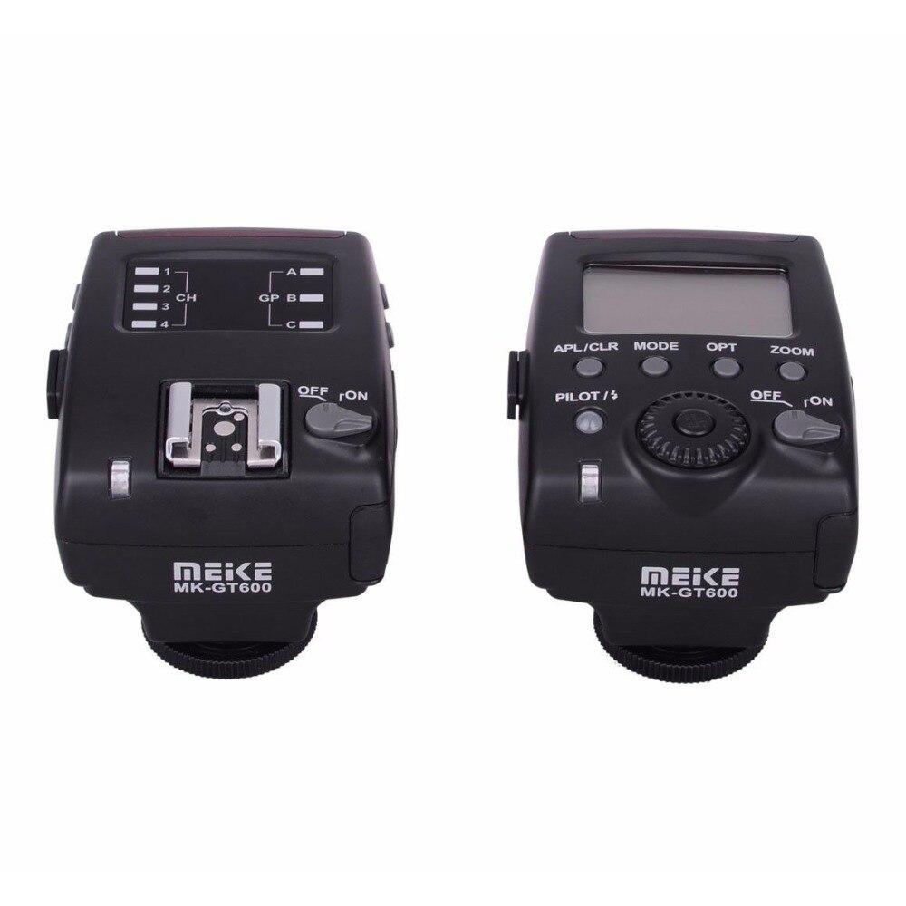 Meike MK-GT600 TTL Flash Trigger For Nikon ETTL Transmitter Receiver meike mk d750 battery grip pack for nikon d750 dslr camera replacement mb d16 as en el15 battery