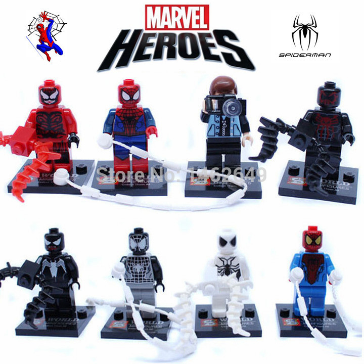 marvel lego the brick apple how to use spiderman