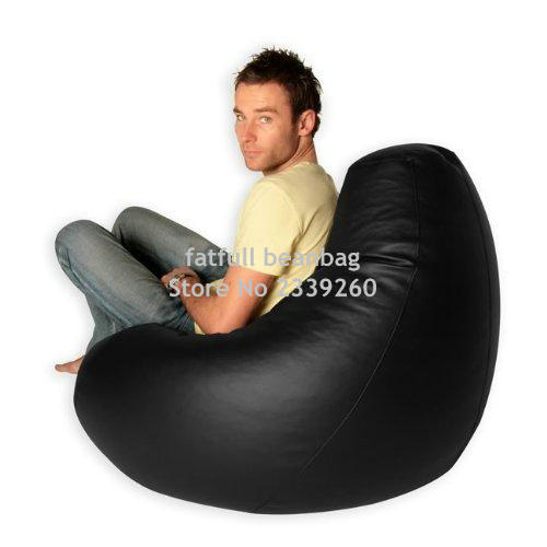 Cover Only No Filler Black Bean Bag S Floor Seat Cushion In Sofas From Furniture On Aliexpress Alibaba Group