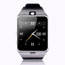 { primer soporte NFC } Aplus GV18 inteligente reloj bluetooth con la cámara Android reloj teléfono tarjeta SIM soporte Smartwatch para el smartphone