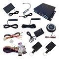 PKE Sistema de Alarme de Carro Com Sensor de Choque Push Start Botão de Parada, Entrada Keyless passiva, remoto Do Motor de Partida, Auto Porta Do Carro Bloqueio