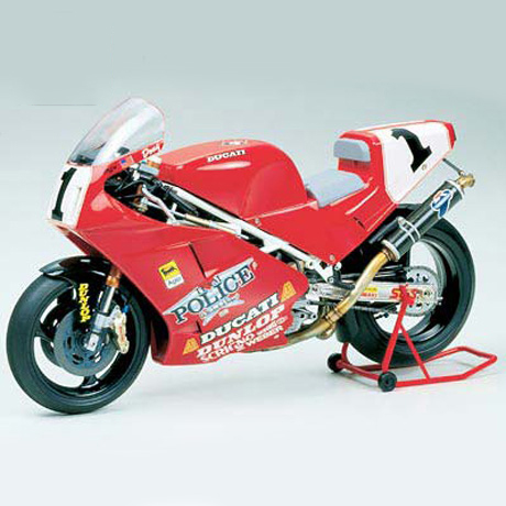 Assemble <font><b>Motorcycle</b></font> <font><b>Model</b></font> 14063 <font><b>1/12</b></font> Ducati 888 Superbike Racer image