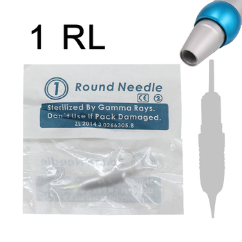permanent Makeup needle 1 prong 3R 5R 7R 50pcs for eyebrow eyeline lip safety needle for liberty digital tattoo machine