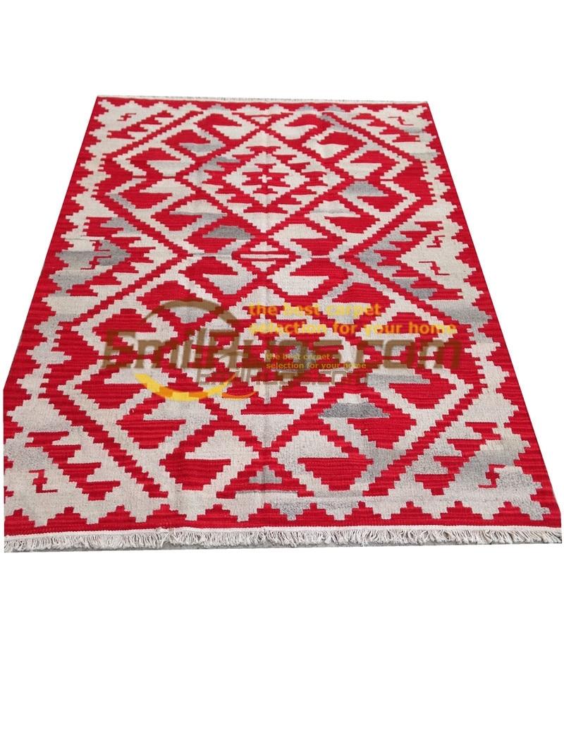 Ручная работа; вязаное; шерстяное Ковры Kilim гостиная ковер Bedroon прикроватные одеяло ...