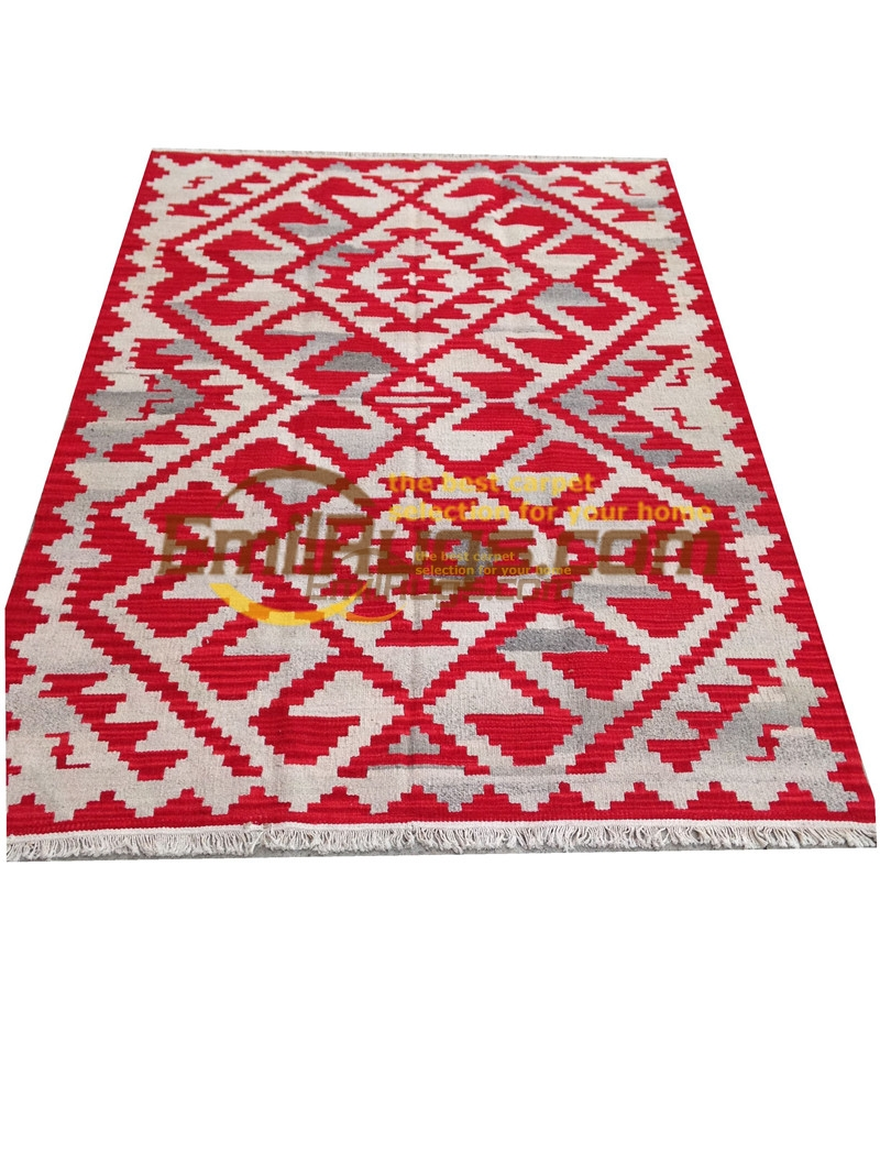 handmade wool kilim rugs living room rug bedroon bedside blanket corridor Mediterranean style bric2bgc131kilimyg4