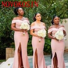 Длинное платье подружки невесты в Южно африканском стиле свадебные