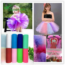 ФОТО tulle roll 15cm 25yards roll fabric spool tutu party birthday gift wrap wedding decoration baby shower party decoration supplies