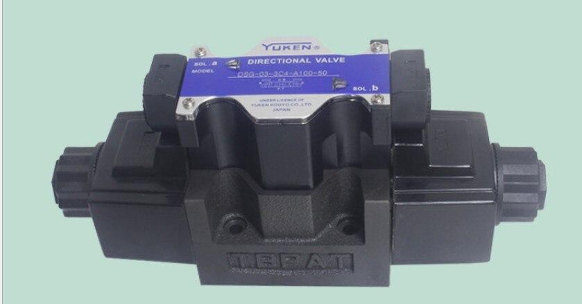 Vanne hydraulique YUKEN DSG-03-3C4-A100-50 vanne haute pressionVanne hydraulique YUKEN DSG-03-3C4-A100-50 vanne haute pression