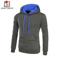 New Hoodies Men 2018 Male Long Sleeve Hoodie Solid Color Thicker Sweatshirt Mens Moletom Masculino Hoodies