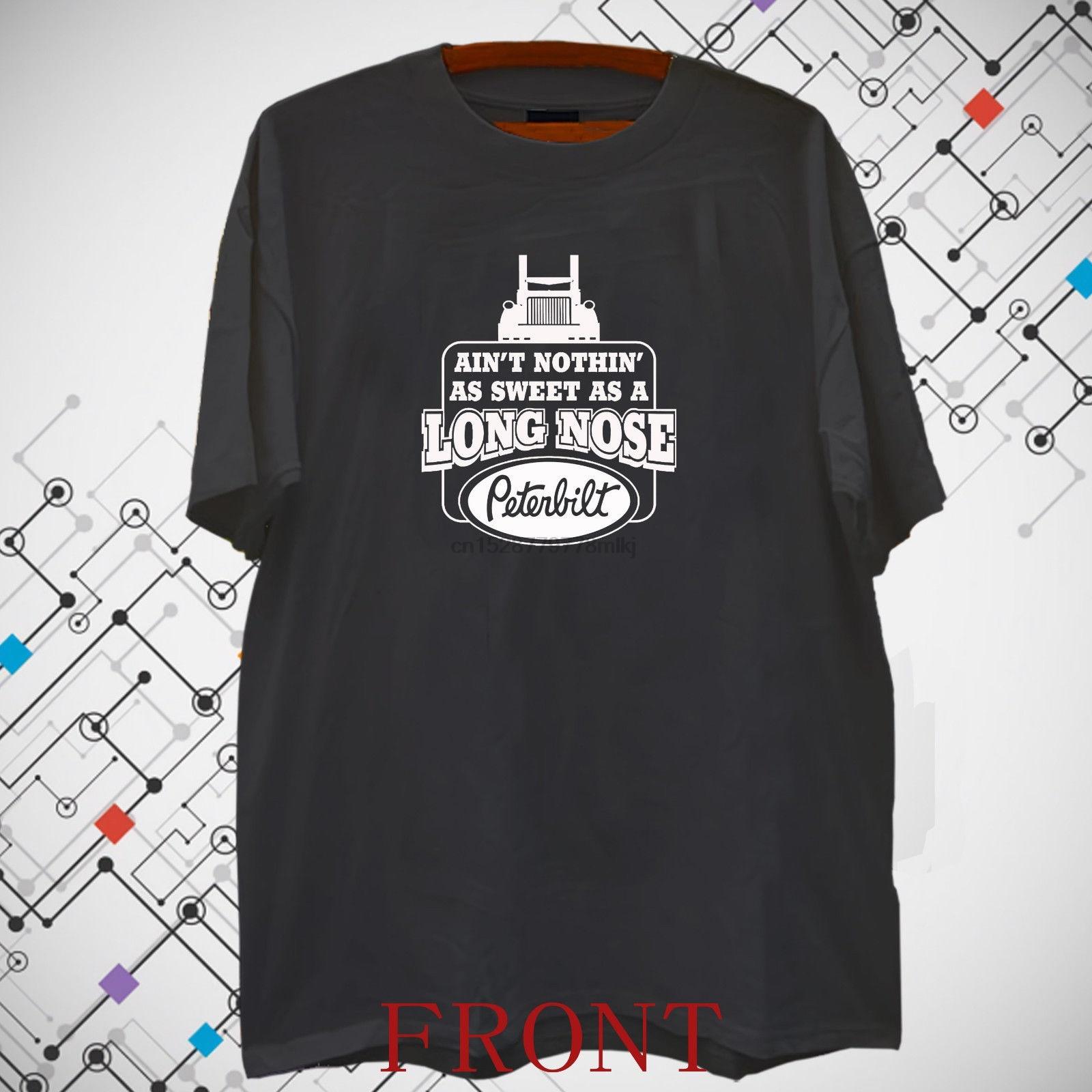 Mack Trucker Trucks Logo Long Sleeve Black T-Shirt Size S to 3XL