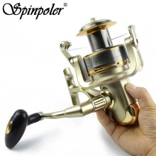 Cheap 8000 9000 10000 11000 Spinning Reel Fishing 11BB Max Drag 12KG Saltwater Sea Big Spinning Fishing Reel Moulinet Wheel