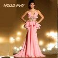 Sexy Pink longo especial ocasião vestidos 2016 New Arrival vestidos De festa Formal vestido querida Robe De soirée