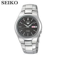 SEIKO Watch Shield 5 Fashion Oblique Plaid Mechanical Watch Male Watch SNK605K1
