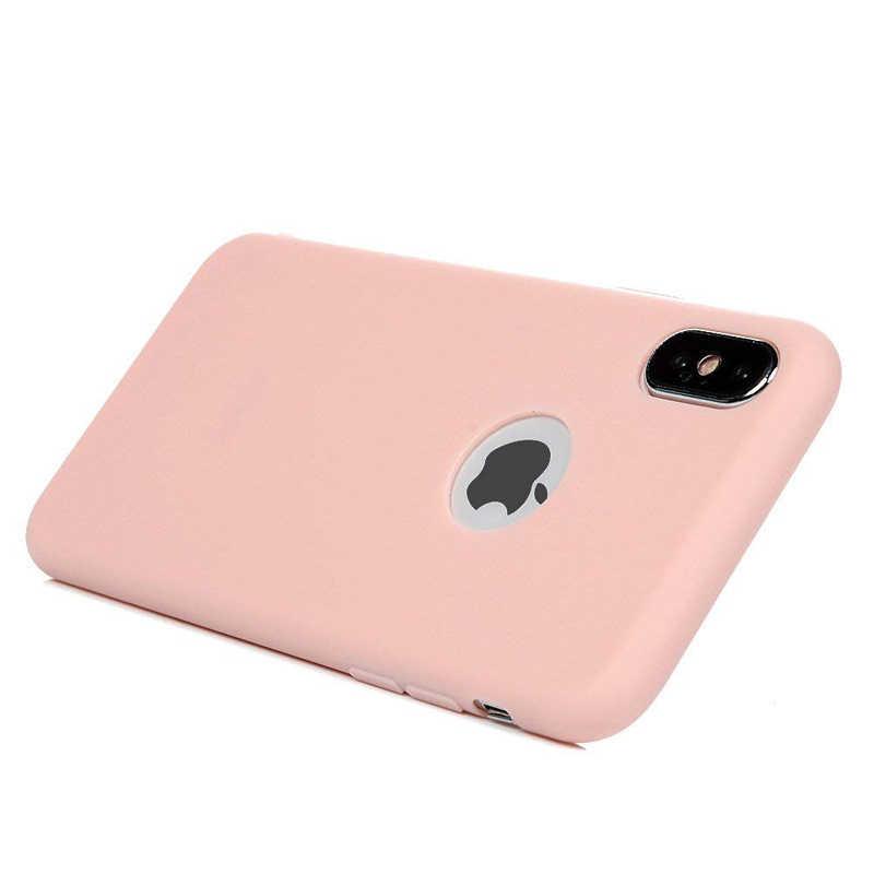 Thời Trang Silicone Mềm Kẹo Bánh Pudding Cho Iphone X 11 Pro Max 8 7 6 6S 6S Plus XR XS max Dẻo Gel Điện Thoại Bảo Vệ Ốp Lưng