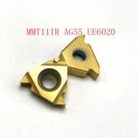 ag55 vp15tf ue6020 פנימית חוט הפיכת כלי 20PCS MMT11IR AG55 VP15TF / UE6020 / US735 כלי קרביד 55 (3)