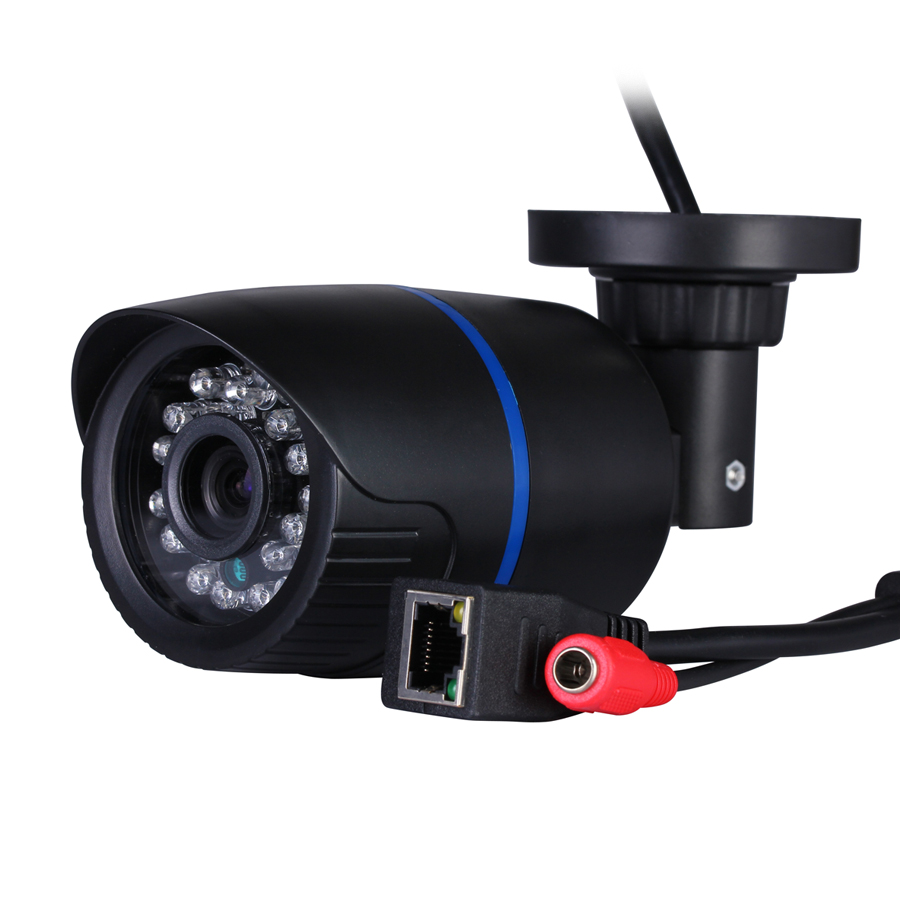 bilder für HI3518E 1280*720 P 1.0MP ONVIF 2,0 Wasserdichte Minigewehrkugel Ip-kamera Ir-schnitt-nachtsicht P2P Bewegungserkennung netzwerk Kamera