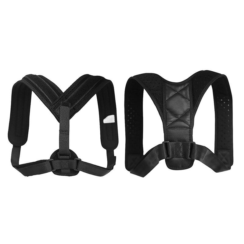 Women Men Elastic Posture Corrector Correction Clavicle Support Back Premium Brace Adjustable Straps Shoulder Brace Belt j2