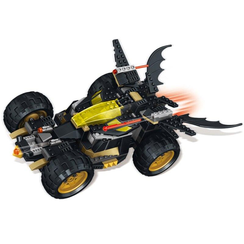 513 Unids El Nuevo Batman Carros Chase Building Blocs Juguetes
