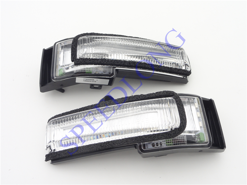 2 Pcs/Pair RH and LH Door mirror lights lamps turn signals for FORD F150 LOWER CONFIGURATION 2015-2016 1 pair 2 pcs rh and lh piano baking painted bumper triangle grille luxury high configuration for ford focus 3 iii 2012 2014