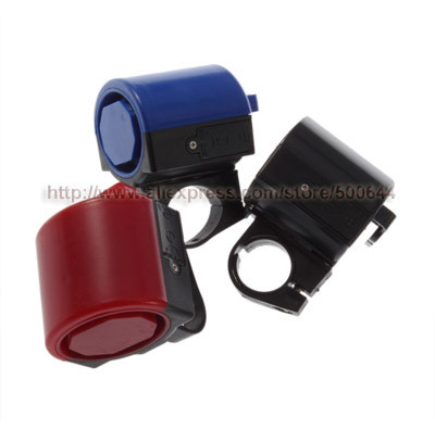Bicycle Bell Horn Electronic Bike Alarm with Loud Siren Sound 90DB Above & 10PCS/Lot Free Shipping