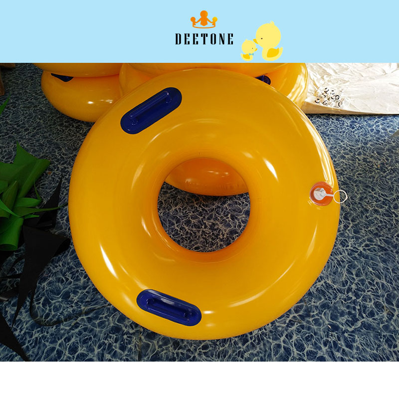 DEETONE Kids Swimming Ring PVC Inflatable Beach Swimming Pool Adult Childrens Lifebuoy Baby Armpit Swimming Circle Outdoor Pool