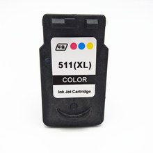 Vilaxh CL511 color compatible ink cartridge for canon cl-511 For Canon PIXMA MP250 270 280 IP2700 480 MX330 MX340