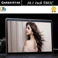 Подарок Случае стекло Octa Ядро 10.1 Дюймов tablet MTK8752 Android 7.0 Tablet 4 ГБ RAM 32 ГБ ROM Dual SIM Bluetooth GPS 10 Tablet PC