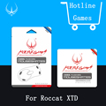 1sets/pack Original Hotline Games Mouse Feet Mouseskate For ROCCAT Kone XTD 0.6mm Performance Level Mousepad Mouse sticker