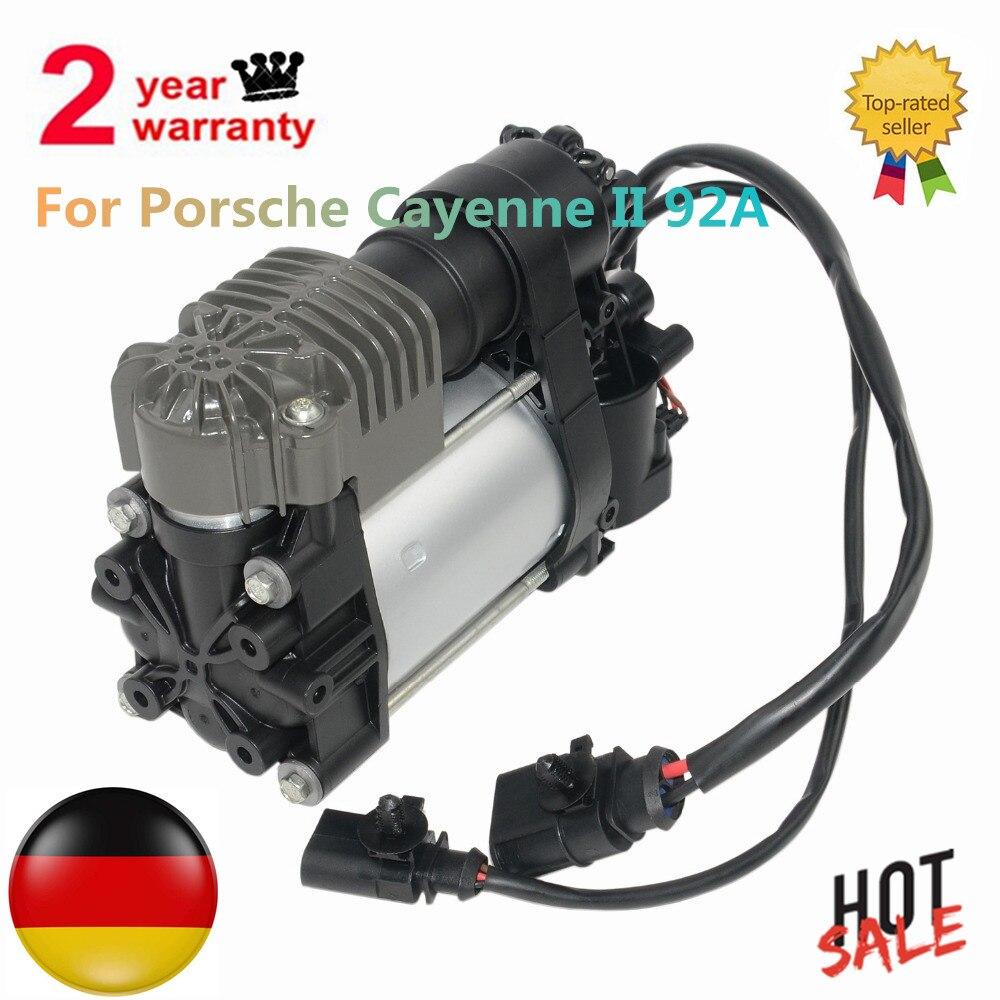 Nova Bomba Compressor de Suspensão a Ar Para Porsche Cayenne II 92A 7P0698007C 7P0698007D 95835890101
