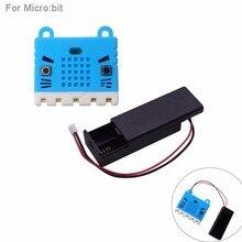 Силиконовый чехол, защитный чехол+ держатель для летучей мыши, чехол 3V PH2.0 для 2 батареек AAA для BBC micro: bit microbit, для обучения детей